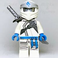 Ninjago LEGO® Zane Ice Ninja Secrets of the Forbidden Spinjitsu Minifigure 70673