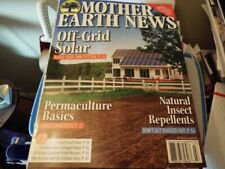 Self-reliance Magazine Mother Earth News October 2016 Off-grid Chainsaws