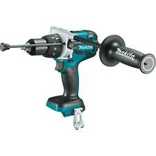 "Makita Xph07Z 18V Brushless Lithium-Ion 1/2"" Hammer Driver-Drill New w/ Handle"