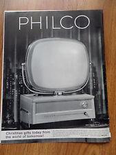 1958 Philco TV Television Ad  The New Philco Predicta