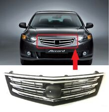 FOR HONDA ACCORD 2008 - 2012 NEW FRONT UPPER CENTER GRILLE WITH CHROME TRIM
