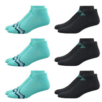 Columbia Women's 6 Pack No Show Ankle Performance Athletic Running Sport Socks