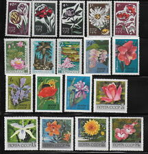 RUSSIA  1966-71      Flowers   MNH-VF  #  Y.T.  Lot