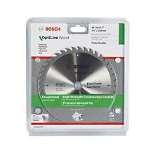 Bosch Optiline Wood Circular Saw Blade 184mm 40 Teeth 71/4