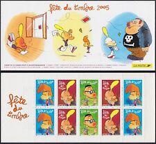 2005 FRANCE Carnet BC3751a** vendu à la faciale FETE du TIMBRE Titeuf Booklet NH