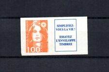TIMBRES adhésif de carnet 1996 Marianne de Briat 6 èm série