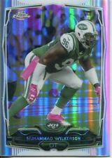 Topps Chrome Football 2014 Refractor Card #70 Muhammad Wilkerson - New York Jets