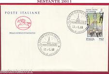 ITALIA FDC IL CAVALLINO SASSARI DISCESA DEI CANDELIERI 1988 TORINO Z267