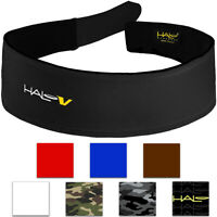 Halo Headband V Hook and Loop Sweatband