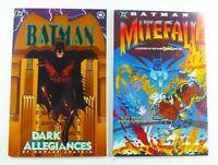 DC BATMAN: DARK ALLEGIANCES + BATMAN: MITEFALL (1995-6) One-Shot LOT Ships FREE!