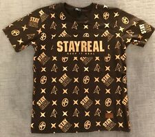 StayReal 10th Year Anniversary Men's Tshirt Tee - Medium