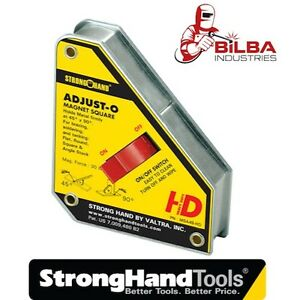 Strong Hand Tools Adjust-O Welding Magnet with ON/OFF Heavy Duty