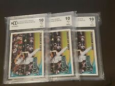 2010 Topps Update Giancarlo Mike Stanton BCCG 10 BGS #US50A Super Hot!!!