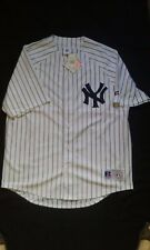 New York Yankees Russell Athletic X-Large XL Replica Pinstripe Jersey NWT
