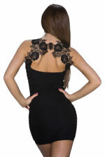 Vestidos de mujer cócteles color principal negro de poliamida
