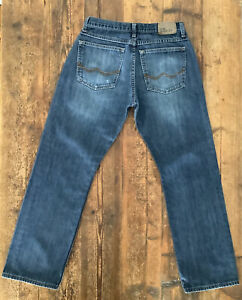 MENS WRANGLER JEANS W28 L30 RELAXED STRAIGHT 99CDWID 100% COTTON