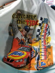 Ricky Craven # 32  Tide /  Downy   2-sided   T-shirt  X Large   New