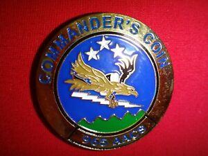 "USAF 965th Airborne Air Control Squadron ""SEMPER VIGILES"" 2-Side Challenge Coin"