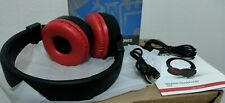 Wireless Headphones, HiFi Stereo Bluetooth Headphones with Mic, RED