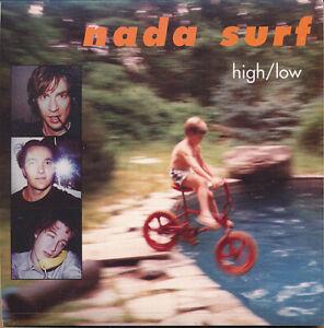 Nada Surf High/Low RARE promo sticker 1996
