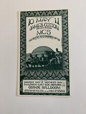 James Cotton Blues Band Original 1968 Concert Postcard