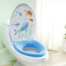 DIY Ocean Pattern Bathroom Toilet Sticker Window Wall Sticker Home Decor JJ