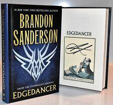 ***SIGNED Book Plate** EDGEDANCER  Brandon Sanderson (Oathbringer Skyward)