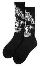 SANTA CRUZ PRAYING HANDS CREW SOCKS BLACK
