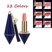 12 Couleurs Rouge à Lèvres Velouté Diamant Mat Crème Hydratante Longue Durée