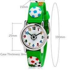 Reloj de Cuarzo Excelente Calidad Willis Diseño de fútbol de 3D Infantil, sólo £ 8.95p