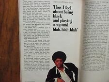 Fe-1970 TV Guide(CLARENCE WILLIAMS III/THE MOD SQUAD/JIMMY DURANTE/MICHAEL COLE)