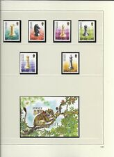 2004 MNH Jersey year collection, postfris** (6 scans)