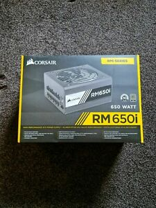 Corsair RM650 650W 80 PLUS Gold Fully Modular PSU Power Supply Brand New Sealed!