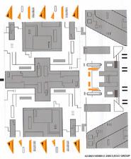 LEGO 7163 - Star Wars - Republic Gunship - STICKER SHEET
