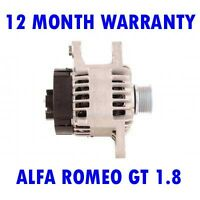 ALFA ROMEO GT 1.8 2.0 2003 2004 2005 2006 2007 - 2010 REMANUFACTURED ALTERNATOR
