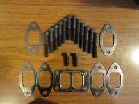 Dodge 12valve exhaust manifold & turbo 12.9 Black Oxide Socket bolts & gaskets
