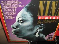 NINA SIMONE ~ Iin Concert CD LIVE 12 Trax 1990 RARE NM!