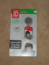 NEW, 1D ONE DIRECTION COLLECTIBLE DOG TAG & CHAIN, LIAM