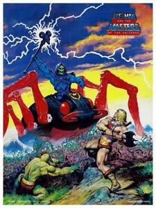 He-Man  POSTER #4  Masters of the Universe  *LARGE & AMAZING IMAGE*  He Man
