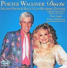 "PORTER WAGONER, CD ""DUETS"" DOLLY PARTON, PENNY DeHEAVEN"