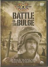 BATTLE OF THE BULGE DOCUMENTARY DVD THE MILITARY HISTORY COLLECTION