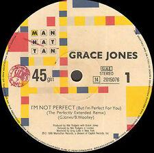 GRACE JONES I'm No Perfect (But You Weren't There) I'm perfect Para