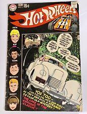 Hot Wheels Redline 1970 Comic Book No. 5 Dec. DC Comics