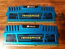Corsair Vengeance 2x4GB DDR3 RAM Blue 8GB Total