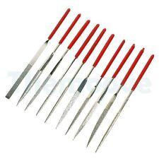 Diamond Needle Nut Fret Pin File Set Hole Slot Filing Guitar Repair Luthier Tool