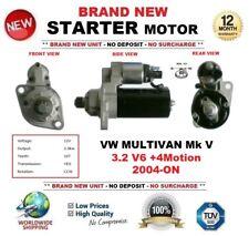 Para VW Multivan Mk V 3.2 V6+ 4Motion 2004-ON Motor de Arranque Nuevo 2.0kW 10