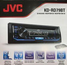 JVC - KD-RD79BT - Single-DIN In-Dash AM/FM CD Receiver with Bluetooth