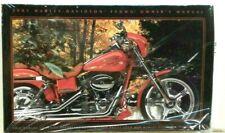 2001  Harley-Davidson Owners Manual (original Sealed) CVO,FXDWG,Screamin Eaghle