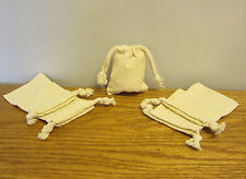 """1 NEW COTTON MUSLIN BAG WITH DRAWSTRINGS 3"""" BY 4"""" BATH SOAP HERBS QUALITY BAGS"""
