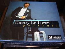 THIERRY LE LURON portrait -  3 cd box set - SEALED / NEW -